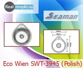 Кухонная мойка Seaman Eco Wien SWT-3945 (Polish)