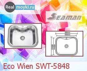 Кухонная мойка Seaman Eco Wien SWT-5848