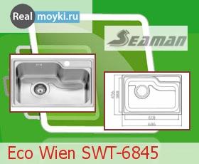 Кухонная мойка Seaman Eco Wien SWT-6845