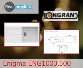 Кухонная мойка Longran Enigma ENG1000.500