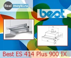 Кухонная вытяжка Best ES 414 Plus 900 IX