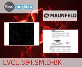 Варочная поверхность Maunfeld EVCE.594.SM.D-BK
