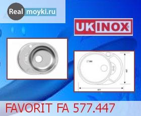 Кухонная мойка Ukinox Фаворит FAD 577.447