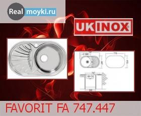 Кухонная мойка Ukinox Фаворит FA 747.447