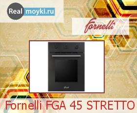 Духовка Fornelli FGА 45 STRETTO