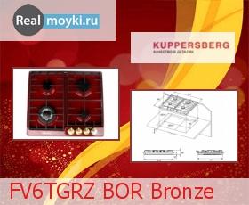 Варочная поверхность Kuppersberg FV6TGRZ BOR Bronze