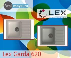 Кухонная мойка Lex Garda 620