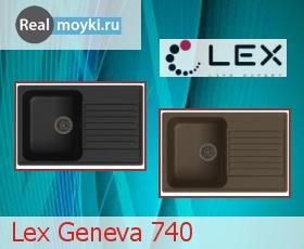 Кухонная мойка Lex Geneva 740