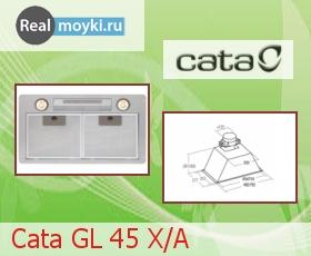 Кухонная вытяжка Cata GL 45 X