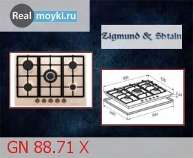 Варочная поверхность Zigmund Shtain GN 88.71 X