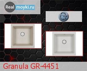 Кухонная мойка Granula GR-4451