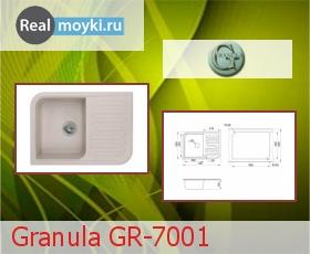 Кухонная мойка Granula GR-7001