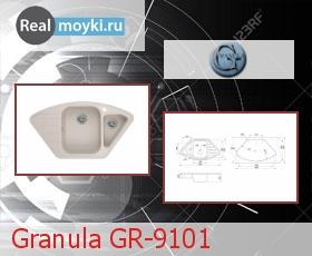 Кухонная мойка Granula GR-9101