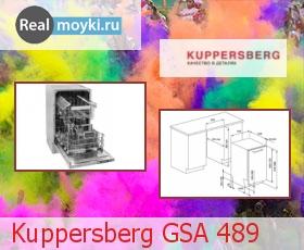 Посудомойка Kuppersberg GSA 489