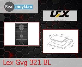Варочная поверхность Lex Gvg 321 BL
