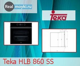 Духовка Teka HLB 860 SS