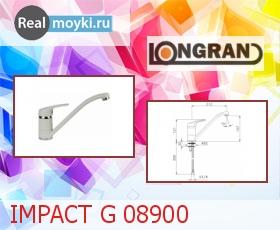 Кухонный смеситель Longran IMPACT G 08900