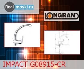 Кухонный смеситель Longran IMPACT G08915-CR