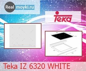 Варочная поверхность Teka IZ 6320 WHITE