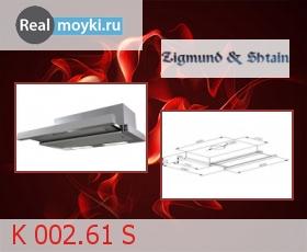 Кухонная вытяжка Zigmund Shtain K 002.61 S