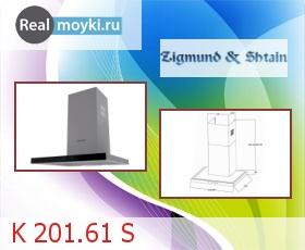 Кухонная вытяжка Zigmund Shtain K 201.61 S