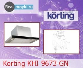 Кухонная вытяжка Korting KHI 9673 GN
