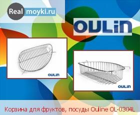 Аксессуар Oulin Корзина для фруктов, посуды Ouline OL-0304L