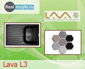 Кухонная мойка Lava L3