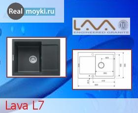 Кухонная мойка Lava L7