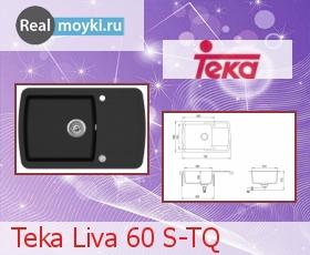 Кухонная мойка Teka Liva 60 S-TQ