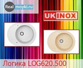 Кухонная мойка Ukinox Логика LOG620.500
