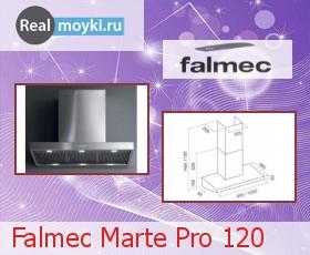 Кухонная вытяжка Falmec Marte Pro 120
