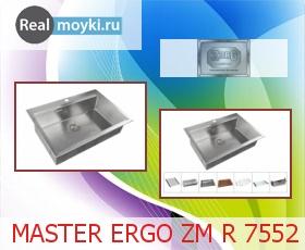 Кухонная мойка Zorg Master Ergo Zm R 7552