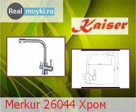 Кухонный смеситель Kaiser Merkur 26044 Хром