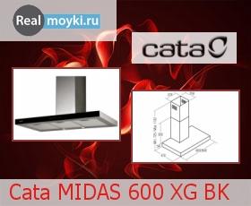 Кухонная вытяжка Cata Midas 600