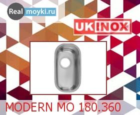 Кухонная мойка Ukinox Модерн MOP 180.340