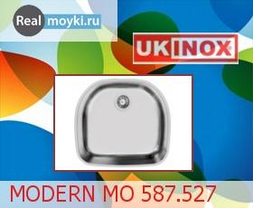 Кухонная мойка Ukinox Модерн MOP 587.527