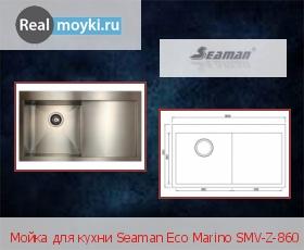 Кухонная мойка Seaman SMV-Z-860