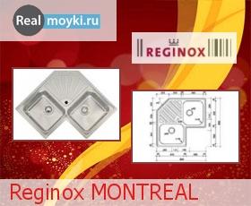 Кухонная мойка Reginox Montreal Lux