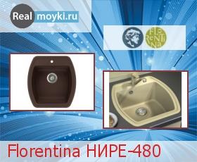 Кухонная мойка Florentina Нире 480