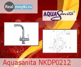 Кухонный смеситель Aquasanita NKDP0212