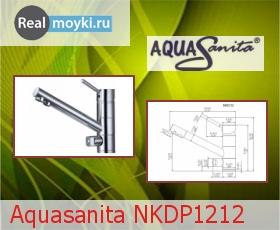 Кухонный смеситель Aquasanita NKDP1212