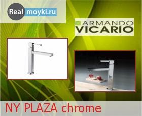Кухонный смеситель Armando Vicario NY PLAZA chrome