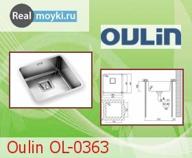 Кухонная мойка Oulin OL-0363