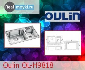 Кухонная мойка Oulin OL-H9818