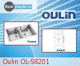 Кухонная мойка Oulin OL-S8201