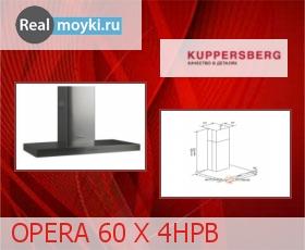 Кухонная вытяжка Kuppersberg Opera 60 X 4HPB