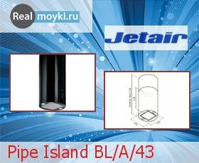 Кухонная вытяжка Jet Air Pipe Island A/43