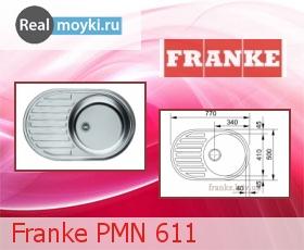 Кухонная мойка Franke PM 611