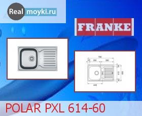 Кухонная мойка Franke POLAR PX 614-60